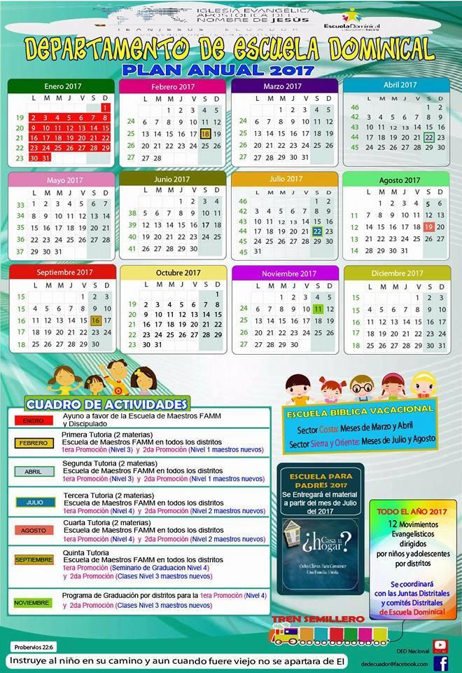 Calendario DED